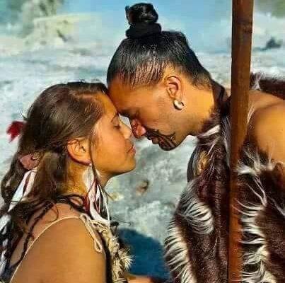 salutation maori